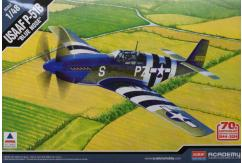 Academy 1/48 USAFF P51B Anniversary Of D-Day 1944 image