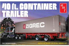 AMT 1/24 40ft Container Trailer image