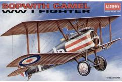 Academy 1/72 Sopwith Camel WWI Fighter image