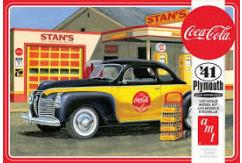 AMT 1/25 1941 Plymouth Coupe 'Coca Cola' image