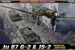 Academy 1/72 JU 87G-2 With JS-2 Tank Ltd image