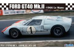 Fujimi 1/24 Ford GT-40 MkII Le Mans 1966 2nd Place image