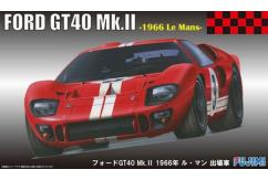 Fujimi 1/24 Ford GT40 Le Mans 1966 image