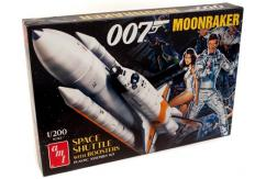 AMT 1/200 Moonraker Shuttle with Boosters - James Bond 007 image