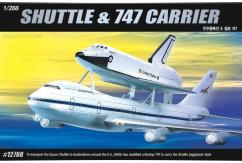 Academy 1/288 Boeing 747 Carrier with Space Shuttle image