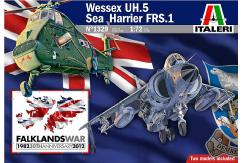 Italeri 1/72 Wessex UH.5 & Sea Harrier image