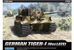 Academy 1/35 Tiger-1 Late Version image