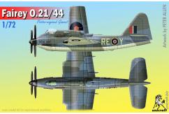 Unicraft Models 1/72 Fairey 0.21/44 (Resin) image