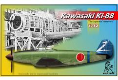Unicraft Models 1/72 Kawasaki Ki-88 (Resin) image