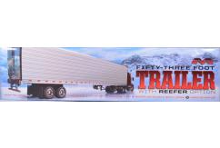 Moebius 1/25 53ft Trailer with Reefer Option image