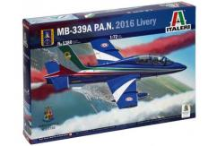Italeri 1/72 MB-339A Macchi With 2016 Livery image