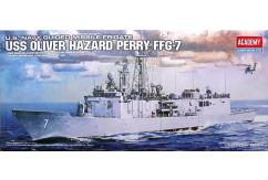 Academy 1/350 USS Oliver Hazard Perry FFG-7 Frigate image