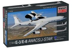 Minicraft 1/144 E-8 AWACS/Joint STAR - 2 Decal Options image