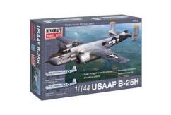 Minicraft 1/144 B-25H Mitchell USAAF - 2 Decal Options image