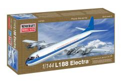 Minicraft 1/144 Lockheed L-188 Electra Demonstrator image