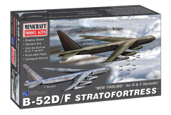 Minicraft 1/144 B-52D Stratofortress image