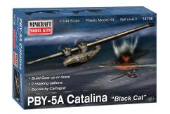 Minicraft 1/144 PBY-5A Catalina 'Black Cat' US Navy image