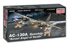 Minicraft 1/144 AC-130A Gunship 'Azrael Angel of Death' image