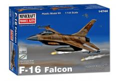Minicraft 1/144 F-16A Fighting Falcon image