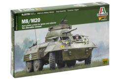 Italeri 1/56 M8/M20 U.S Military Vehicle image