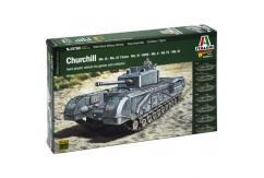Italeri 1/56 Warlord Games Churchill image