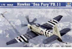 Trumpeter 1/72 Hawker Sea Fury FB.11 image