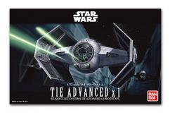 Bandai 1/72 Tie Advanced x1 - Snap Kit image