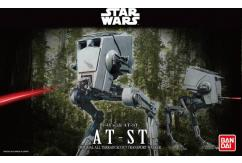 Bandai 1/48 AT-ST Imperial All Terrain Scout Transport - Snap Kit image