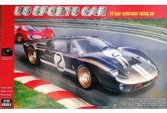 HobbyBoss 1/12 1966 Ford GT40 Mk.II US Sports Car Magnifier image