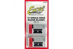 Excel Single Edged Razor Blades 10 Pack image