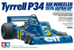 Tamiya 1/20 Tyrell P34 1976 Japan GP with PE Parts image