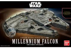 Bandai 1/144 Millennium Falcon - The Force Awakens - Snap Kit image