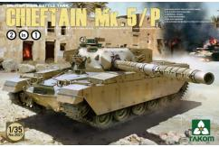 Takom 1/35 Brit. Main Battle Tank Chieftan Mk5 2N1 image