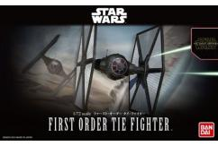 Bandai 1/72 Star Wars First Order Tie Fighter - Snap Kit image