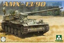 Takom 1/35 French Light Tank Amx-13/90 image