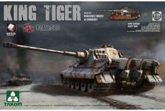 Takom 1/35 Sp.Edtn King Tiger PzAbt 505 w/Interior & Zimmerit image