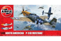 Airfix 1/48 North American P51-D (Filletless Tails) image