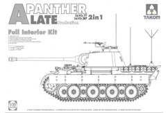 Takom 1/35 Panther w/Full Interior Kit - Late image