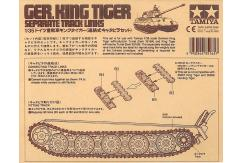Tamiya 1/35 German King Tiger Tank Track Links Only image