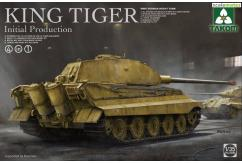 Takom 1/35 King Tiger Initial Production - 4 in 1 image