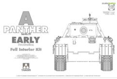 Takom 1/35 Panther w/Full Interior Kit - Early image