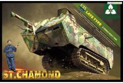Takom 1/35 French Heavy Tank St Chamond - Late image
