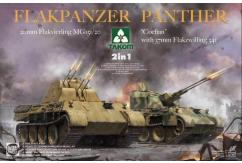 Takom 1/35 Panther Colian w/37 & 20mm Flak 2N1 image