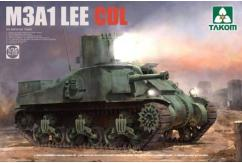 Takom 1/35 US Medium Tank M3A1 Lee CDL image