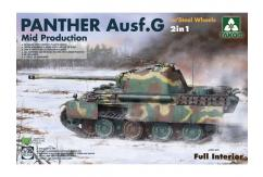 Takom 1/35 Panther Ausf.G Mid with Steel Wheels image