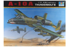 Trumpeter 1/32 USAF A-10A Thunderbolt II image