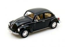 Welly 1/24 VW Classic Beetle Kitset (Blue Hard Top) image