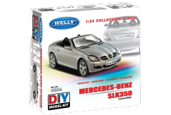Welly 1/24 Mercedes Benz SLK350 Diecast Kitset image