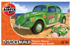 Airfix Flower Power VW Beetle QuickBuild Set image
