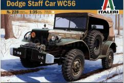 Italeri 1/35 Dodge Staff Car WC 56 image